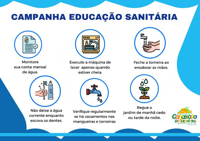Campanha de Educação Sanitária – Aprendendo novos hábitos