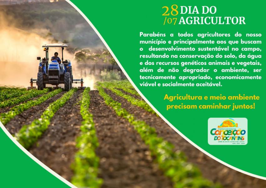 Homenagem aos agricultores