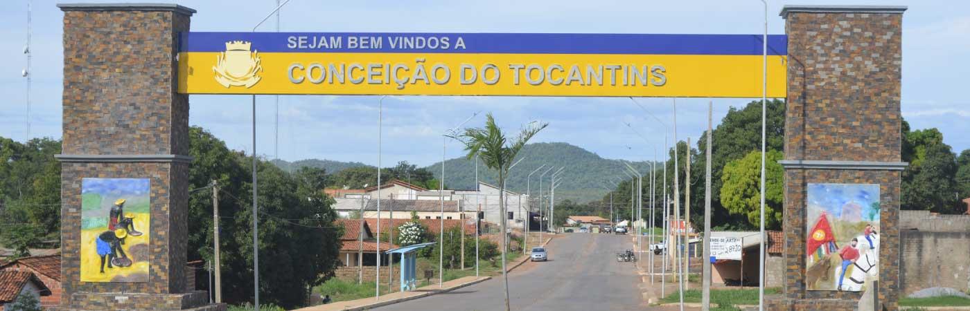 Portal de Boas Vindas, ao Município de Conceição do Tocantins